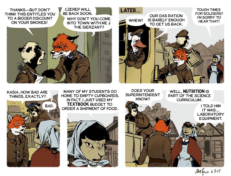 Rudek and the Bear #65 by PeterDonahue