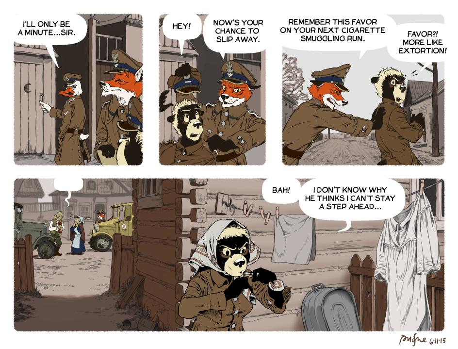 Rudek and the Bear #66 by PeterDonahue