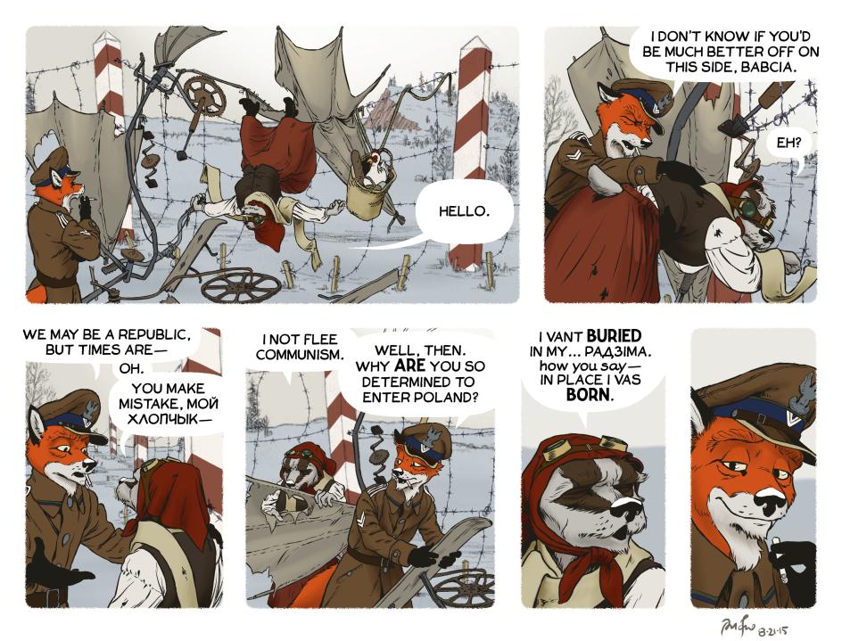 Rudek and the Bear #71 by PeterDonahue