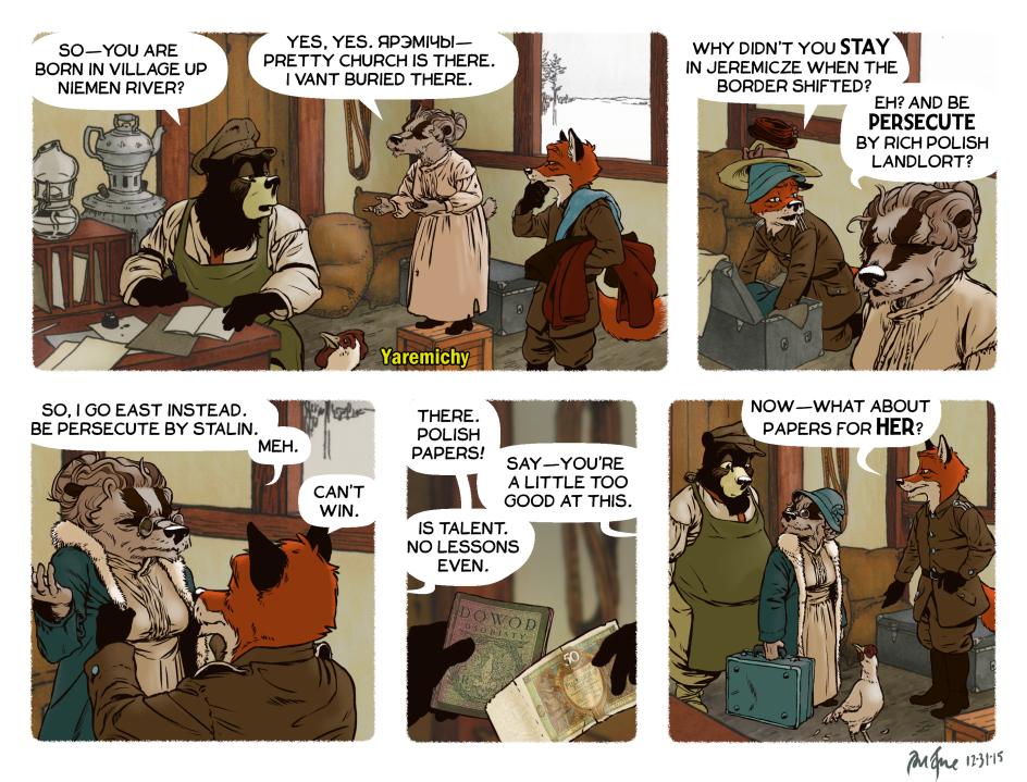 Rudek and the Bear #73 by PeterDonahue