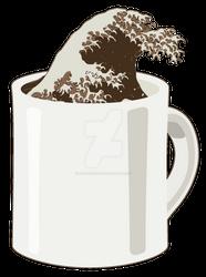 Cup o' Hokusai