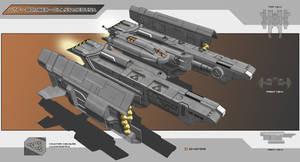 UTF - Bomber - Class Medusa by Lock-Mar