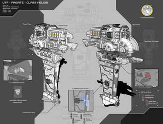 UTF - Frigate - Class Helios by Lock-Mar