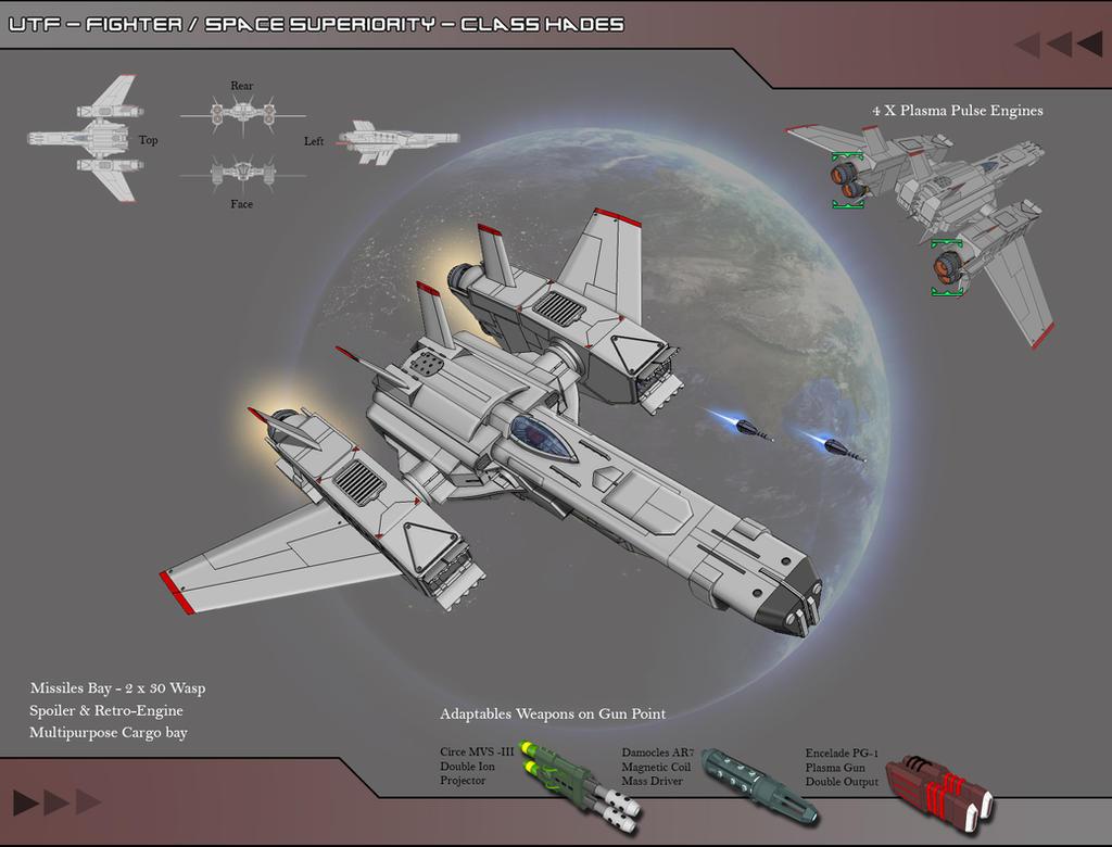 UTF - Fighter - Class Hades by Lock-Mar