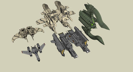 Size between Fighters / Bombers