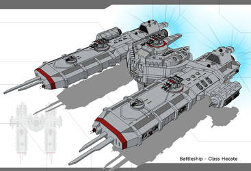 UTF- Battleship - Class Hecate