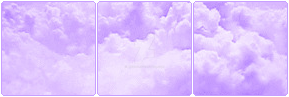 purple cloud aesthetic f2u by axedog