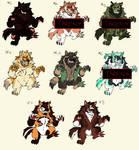 werewolf adopt batch (OPEN) 5/8 by axedog