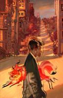 Nine Tailed Fox by Jon-Foster