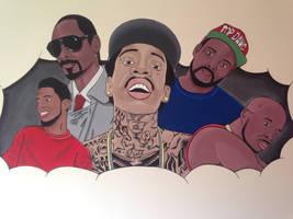 Rap wall art piece by baseart11