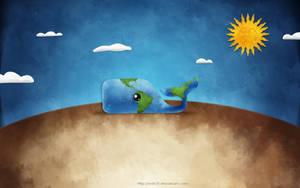 Planet earth by mdh3ll