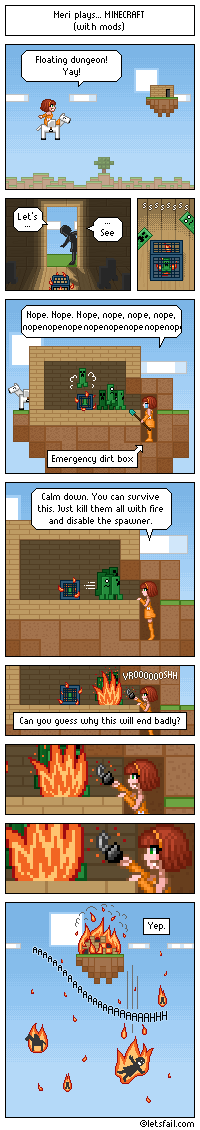 Minecraft - Distracted by meririm