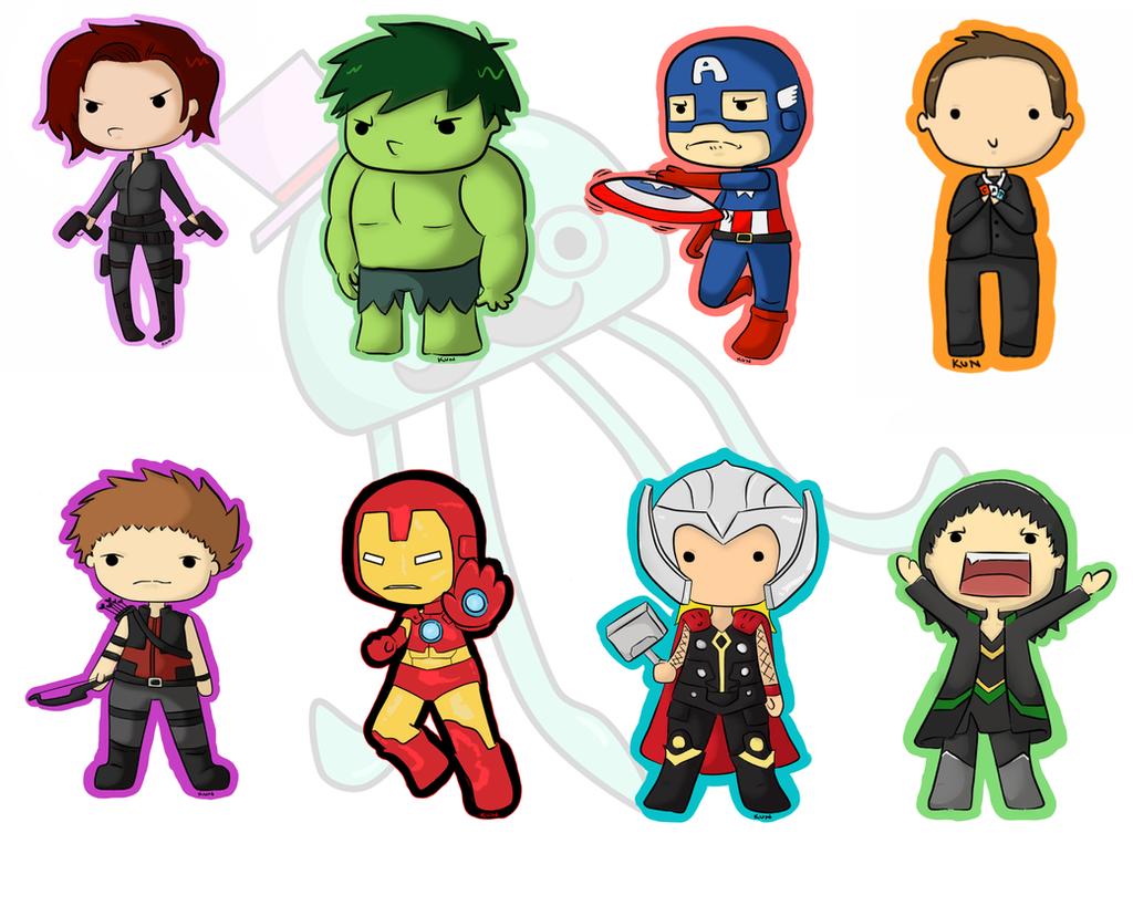 Avengers Keychain by MySirJelly