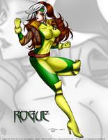 Rogue Fanart By juboss by juboss