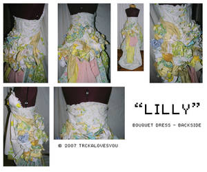 lilly bouquet - backside by trcka