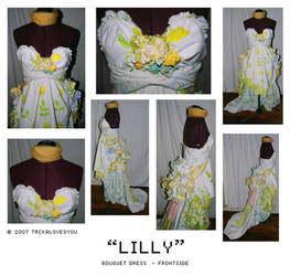 lilly bouquet - frontside by trcka