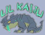 Lil Kaiju - shirt design
