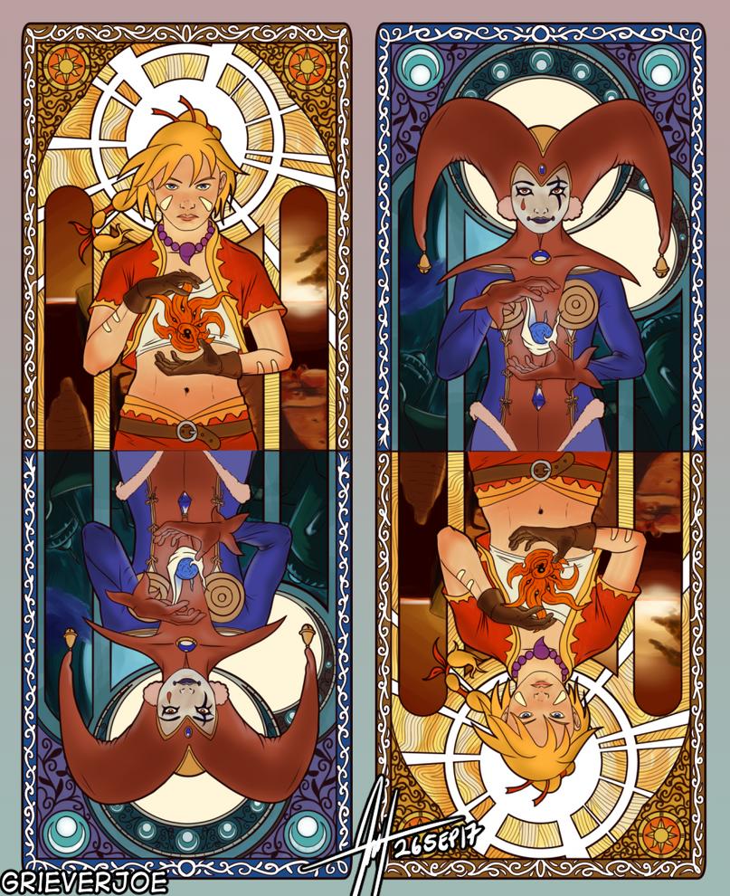 Chrono Cross - Prisoners of Fate by Grieverjoe