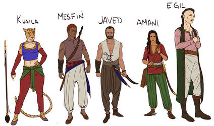 Ever Skyward - Character designs
