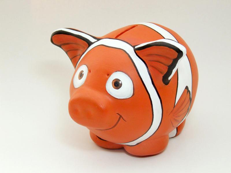 Nemo piggy bank by Mguin ...