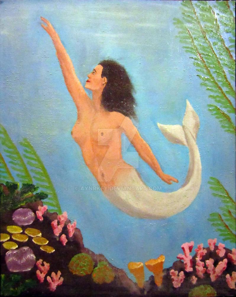 Polynesian mermaid by aynrkey