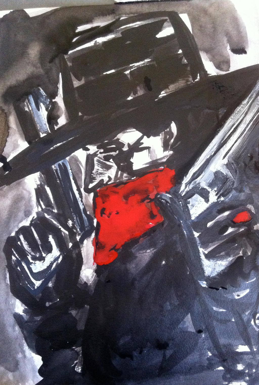 Alec Baldwin Shadow The shadow (alec baldwin) ink wash by ... Alec Baldwin