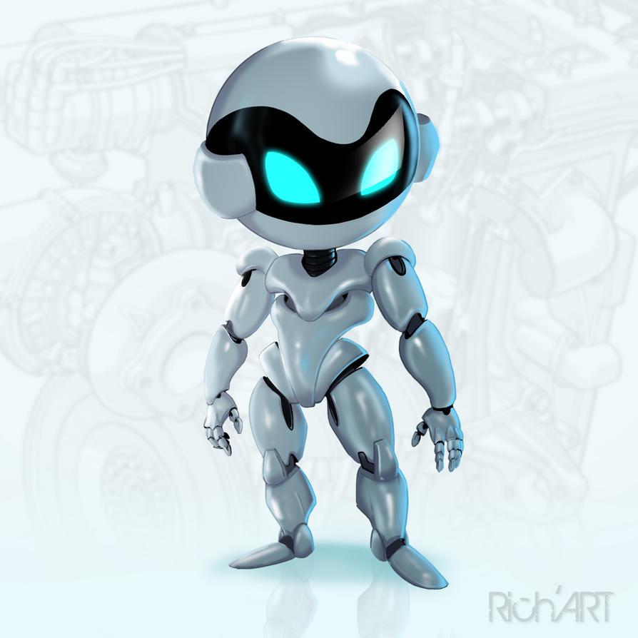 Robot Samsung by Goldstress972