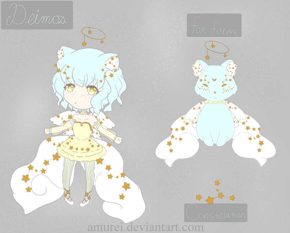 Deimos ref sheet by Amurei