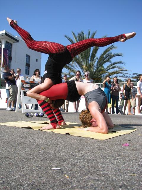 street fair hand balancing by DanniDoll