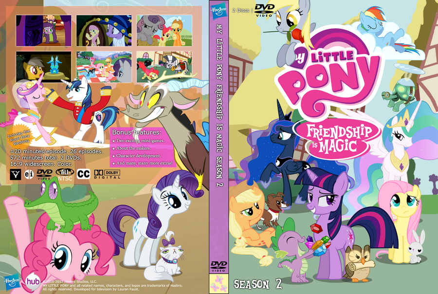 Cartoon: My Little Pony: Friendship Is Magic Season 8