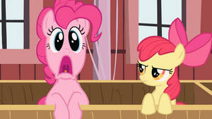 Apple Bloom is not amused Wallpaper