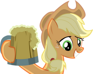 Hatbulb Preview: Applejack by laberoon