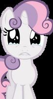 Sad Sweetie Belle by laberoon