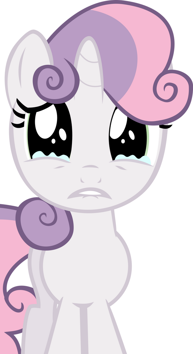 Sad Sweetie Belle by laberoon