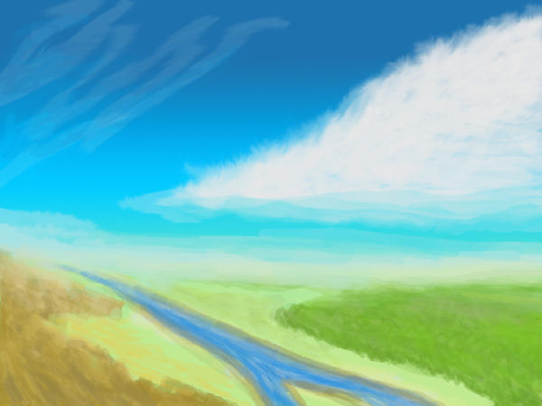 Calm River by h3nkku