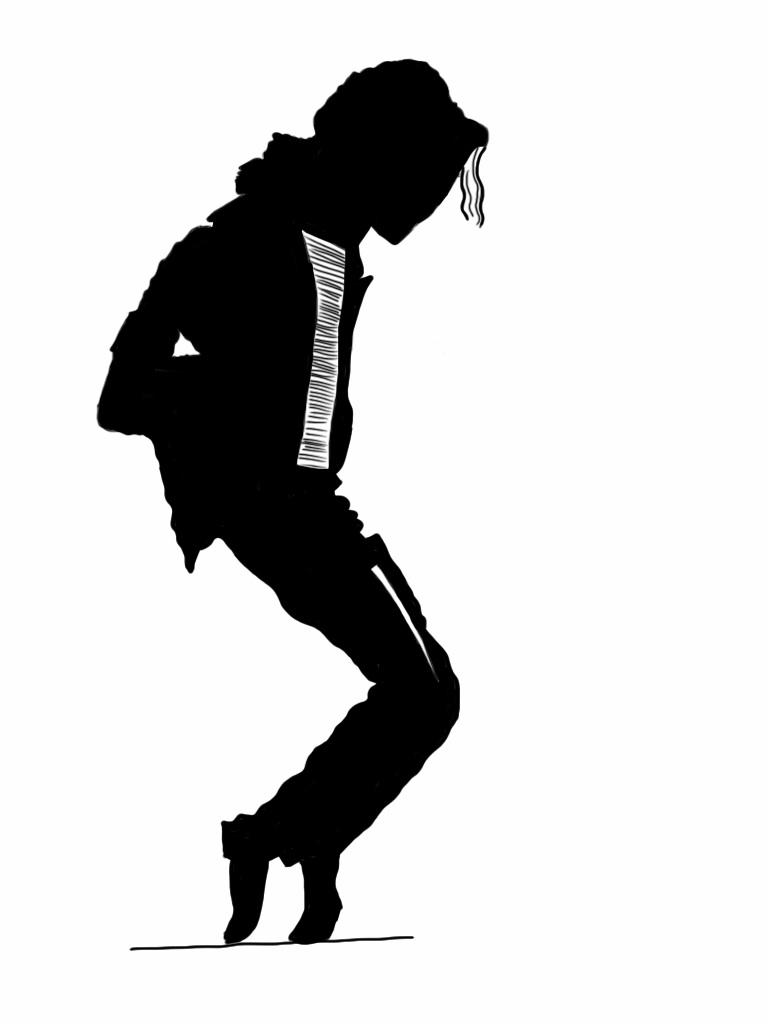 michael jackson silhouette by muhammadsallu