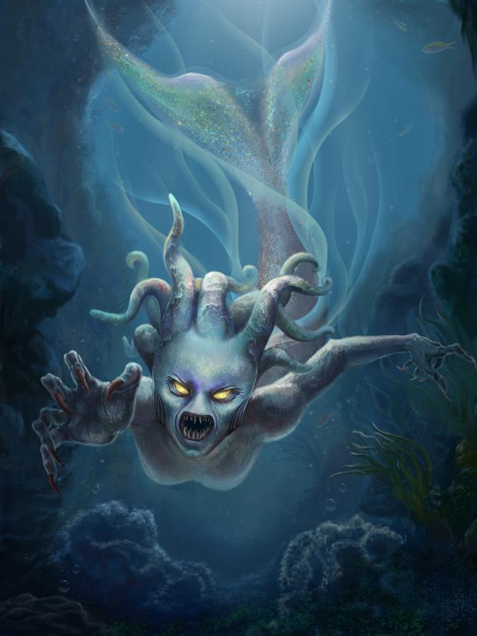 Mermaid by EleneMarseille