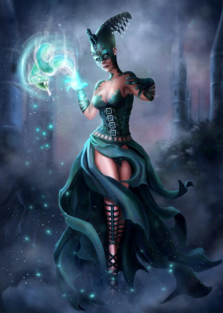 Wizard by EleneMarseille