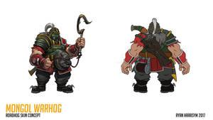 Mongol War Hog