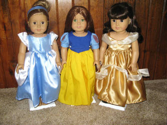 Disney princess doll by ProtectorKorii