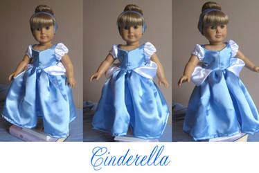 American Girl Doll Cinderella by ProtectorKorii