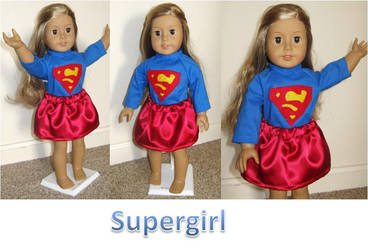 American Girl Doll- Supergirl by ProtectorKorii