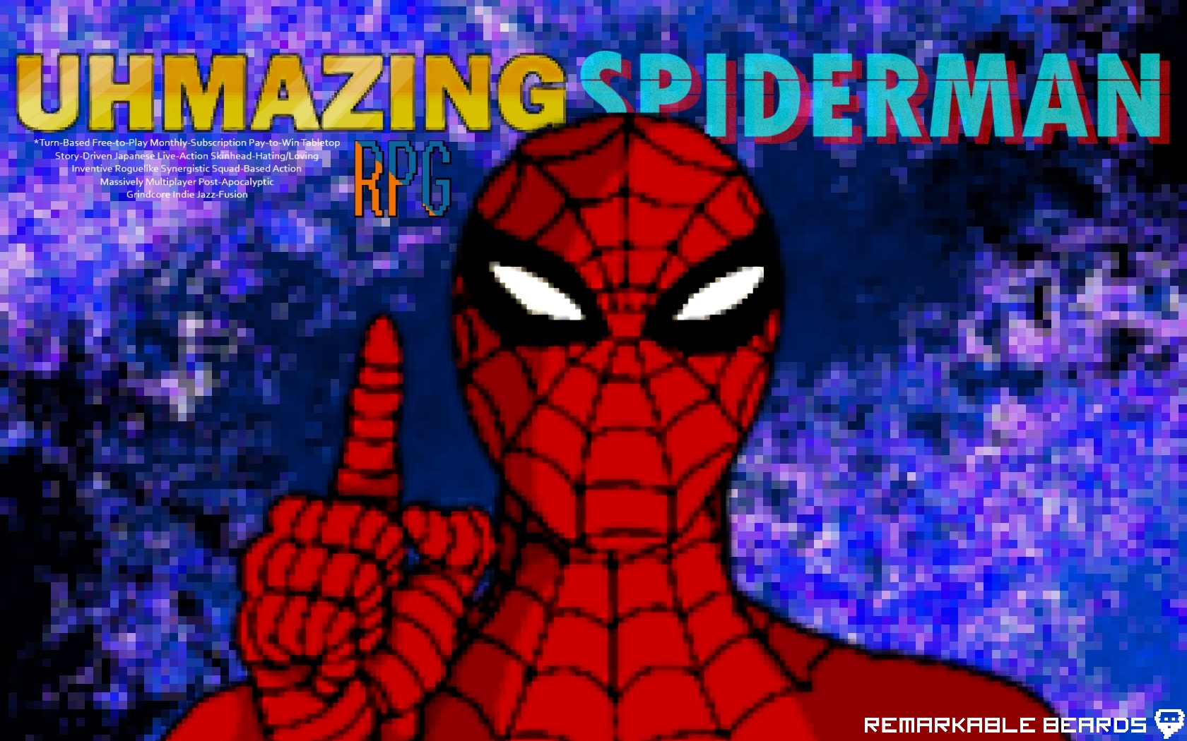 Best Wallpaper Mac Spiderman - the_uhmazing_spiderman_rpg_1050p_wallpaper_by_confederacy1234-d649r21  Perfect Image Reference_18912.jpg