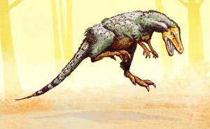 Staurikosaurus colored by Dinostavros
