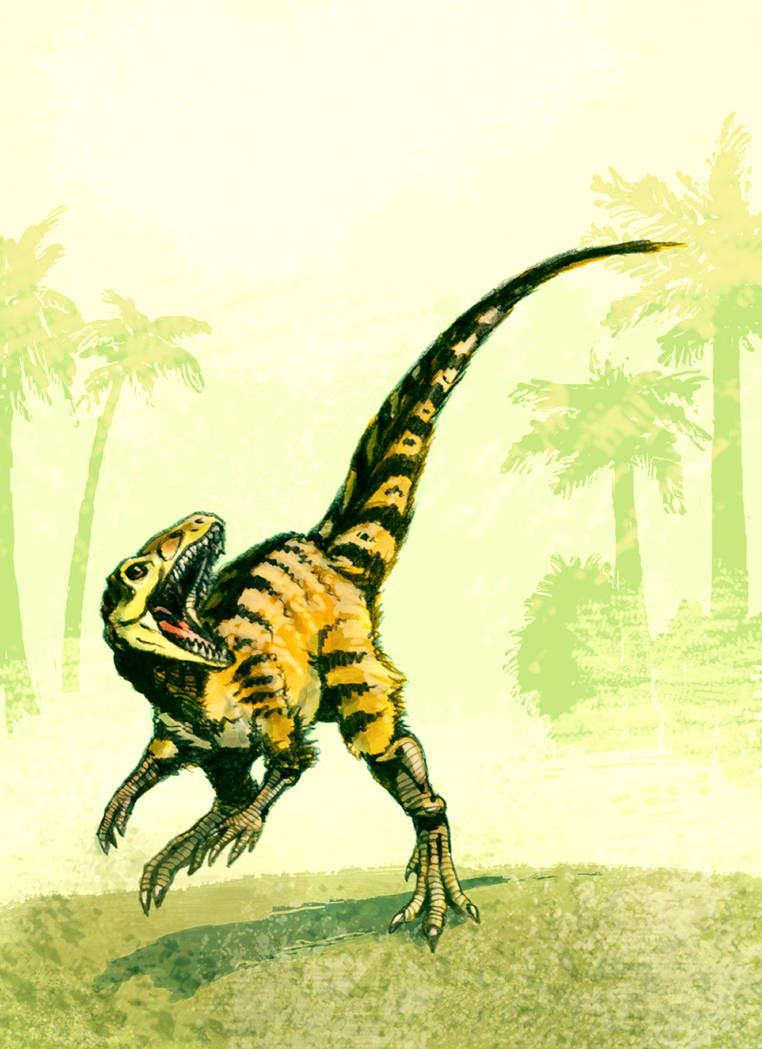 Chindesaurus colored by Dinostavros