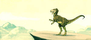 Herrerasaurus colored by Dinostavros