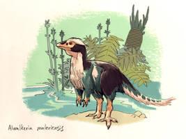 Feathered Alwalkeria maleriensis by Dinostavros