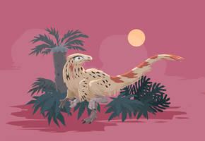 Chindesaurus bryansmalli by Dinostavros