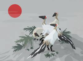 Coelophysis bauri by Dinostavros