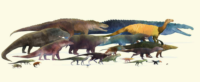 Triassic invasion!